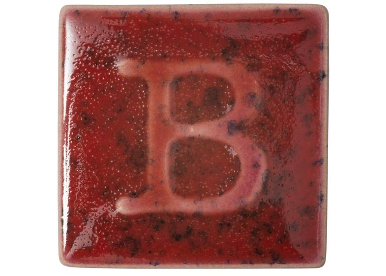 Botz E/Ware Glaze: Rot Gepunktet (200cc)