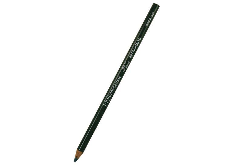 Hobbyceram Green Underglaze Pencil 603