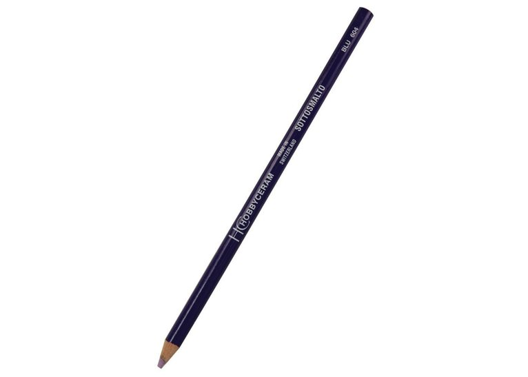 Hobbyceram Blue Underglaze Pencil 604