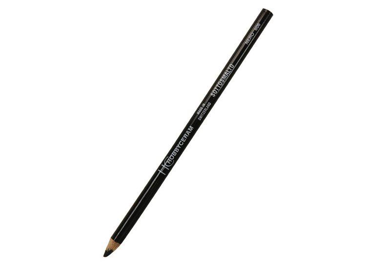 Hobbyceram Black Underglaze Pencil 606