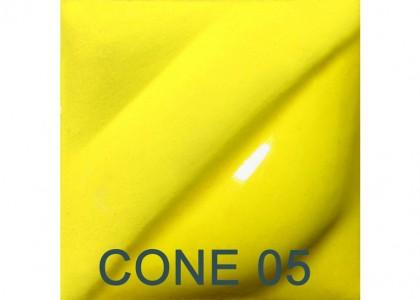 Amaco Velvet Underglaze: Intense Yellow 473ml