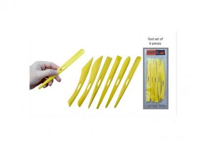 Plastic Tool Set (6)