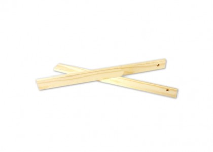 One pair of 7mm Wooden Rolling Guides