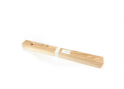 One pair of 12mm Wooden Rolling Guides