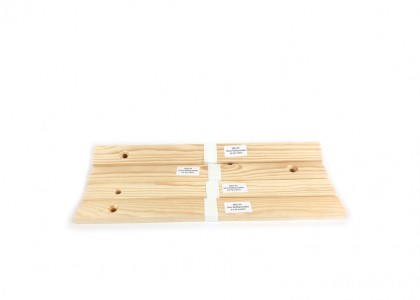 One pair of each 7mm, 9mm, 12mm & 15mm Wooden Rolling Guides
