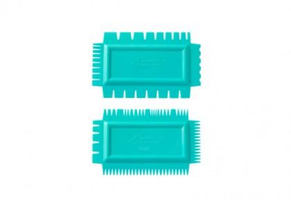 Texture Combs Set of 2: Soft flex, set A