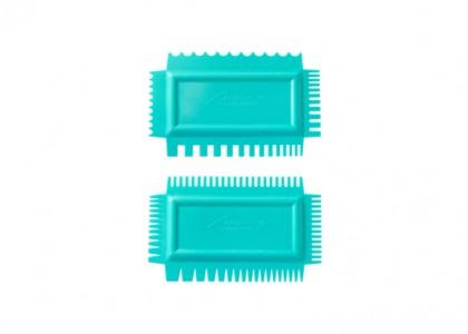Texture Combs Set of 2: Soft flex, set B
