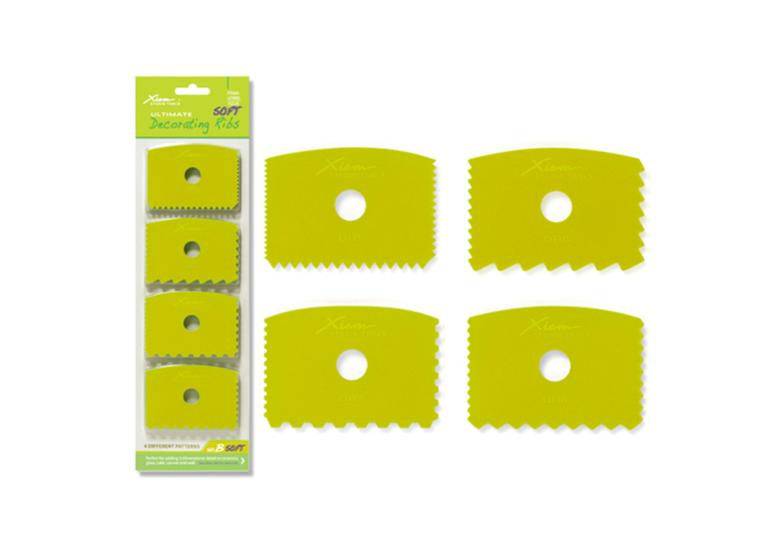 Decorating Ribs Set of 4: Soft Flex, set B