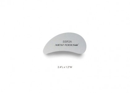 Stainless Steel Clay Rib: flawless & flexible, 2.4 x 1.2