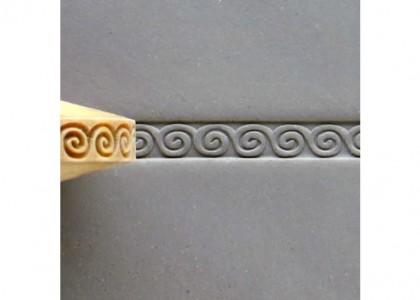 Greek Key Spiral FR