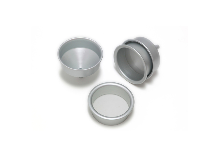 Aluminium Funnel to fit Alum. Sieves int.dia.120mm height120mm