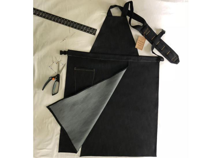 The Original Potters Apron. Made by David Wright Pottery.