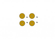 GR Pottery Forms: WA Spacer (4 piece)