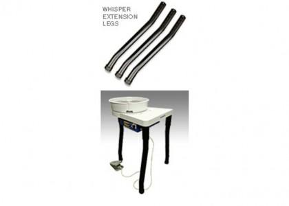 Supplementary set of longer curved legs for RK3E wheel (3pcs)