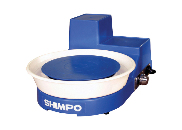 Shimpo RK-5T Belt-Drive Table Top Potter's Throwing Wheel (Hand Lever)