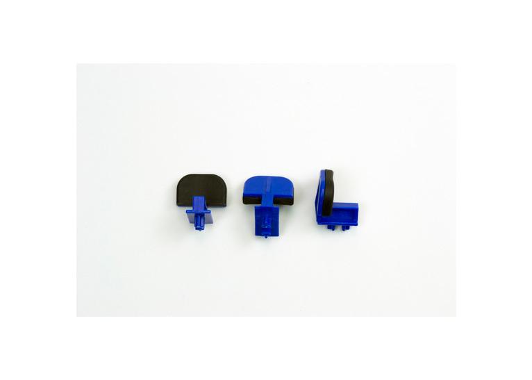 Giffin Grip Blue Wide Slider set of 3