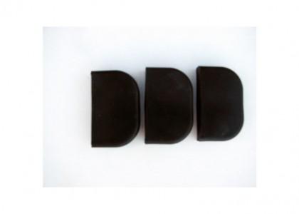 Giffin Grip Black Basic Slider Set of 3