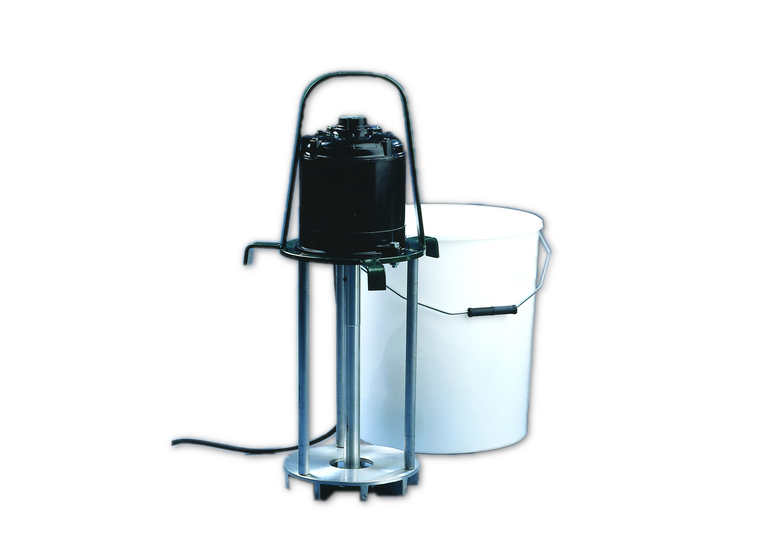 Five Gallon Mixer (supplied with heavy-duty plastic tub)