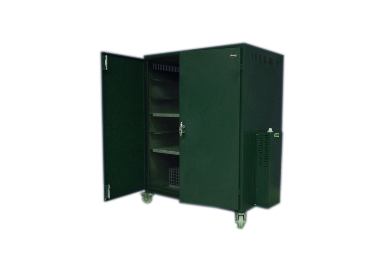 Heated Drying Cabinet on Castors. 1100h x 914w x 635d