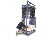 Da Vinci 100cf L & L Industrial Bell Lift Kiln