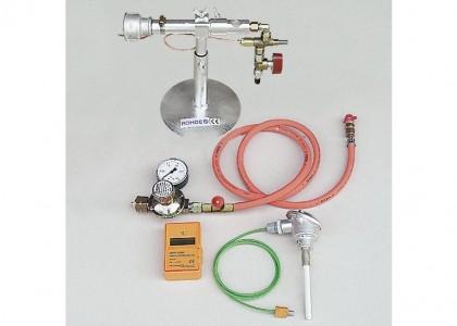 Raku Complete Accessories - Includes burner, regulator, hose and temperature measuring equipment