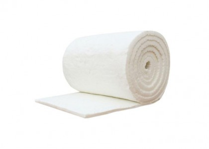 12.5 x 610 x 14640mm 128kg Density Roll of Ceramic Fibre Blanket