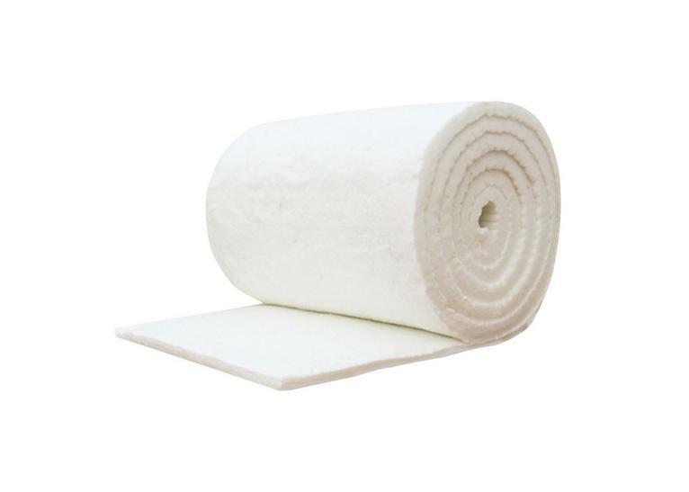 25 x 610 x 305mm 128kg Density Piece of Ceramic Fibre Blanket