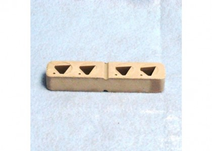 Orton 4-Hole Plaque/Socket for Large Cones