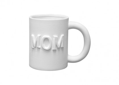 Mom Mug: 6/cs: 5x3.25x4
