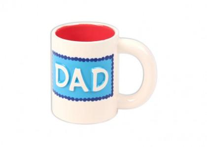 Dad Mug: 6/cs: 5x3.25x4