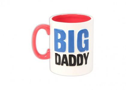 Big Daddy Mug: 4/cs: 4.15x5