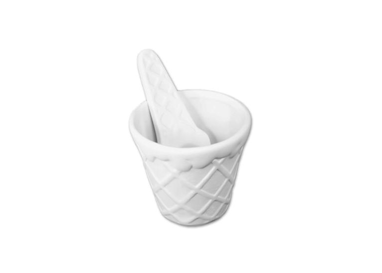 Ice Cream Bowl & Spoon: 3x3.25: Spoon 5