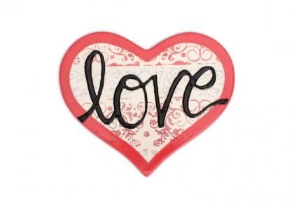 Heart Trivet: 6/cs: 7.5x6