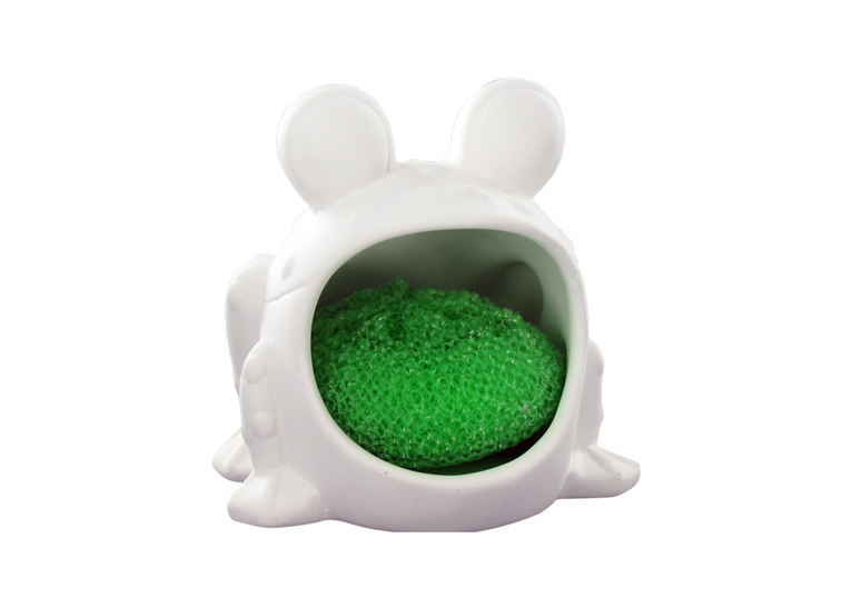 Frog Soap Holder: 4/cs: 4.5x4.5