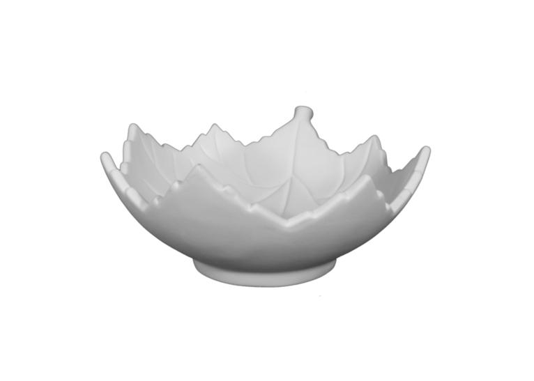 Leaf Bowl: 4/cs: 8.5x7.75x3.5