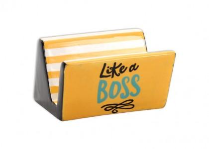Business Card Holder: 6/cs: 2x3.5x4