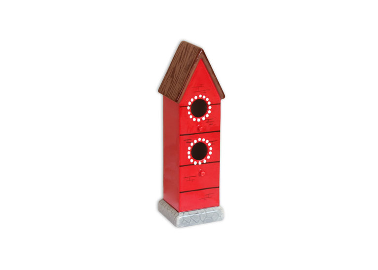 Bungalow Bird House