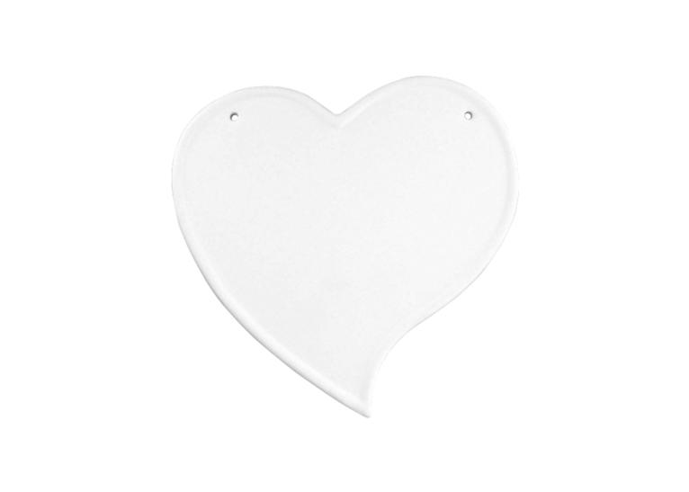 Heart Plaque Kit: 8/cs: 7x7