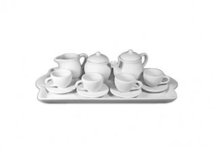 Child's Tea Set: 2/cs: 12.5x6.25