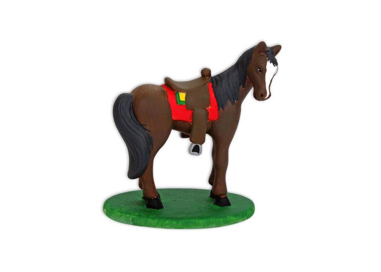 Horse W/Saddle: 4/cs: 6x5