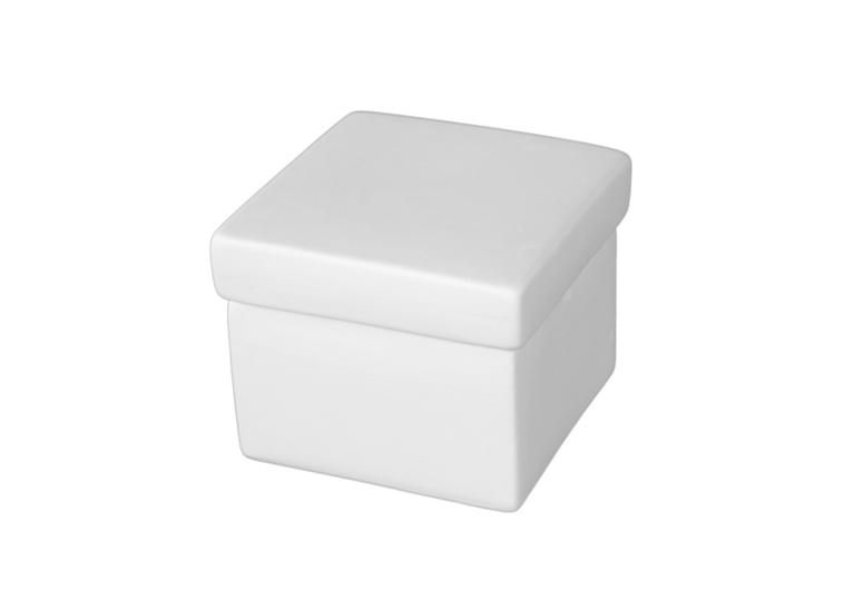 Cube Box W/Lid