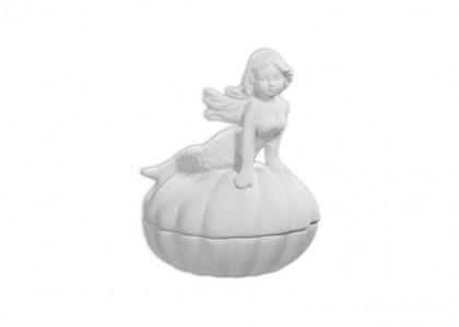 Mermaid Shell Box