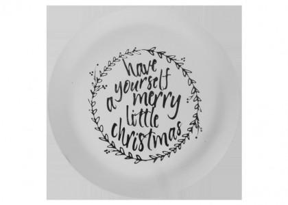 Merry Xmas Plate