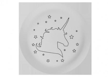 Star Unicorn Plate