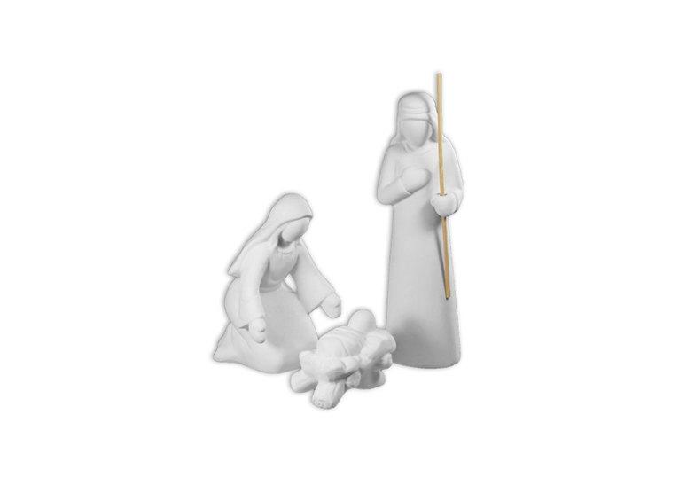 Contemp Nativity Set