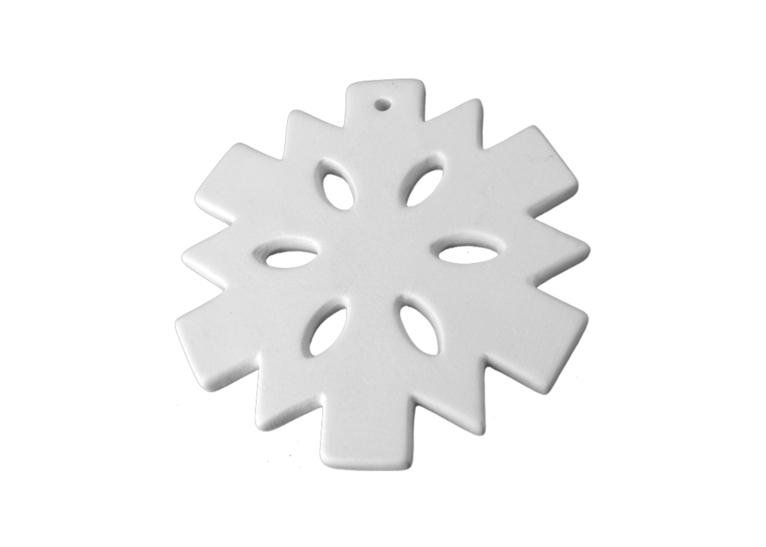 Flat Snowflake Ornam