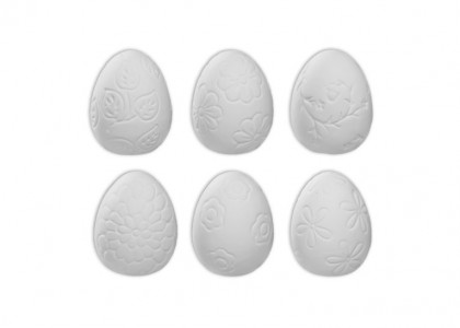 Textured Easter Eggs