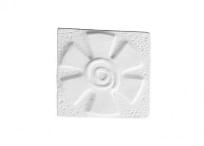 Swirl Flower Tile