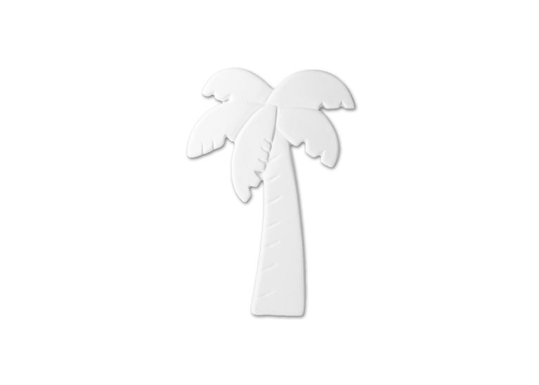 Lge Palm Tree Tag 12