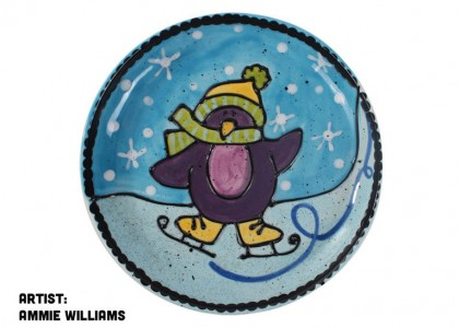 Penguin Party Plate